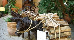 Barbed Wire Donkey at Tlaquepaque | I was fascinated by this bit of art…