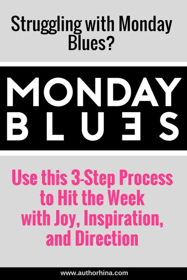 You must be all too familiar with Monday Blues, that suddenly appear every Monday…