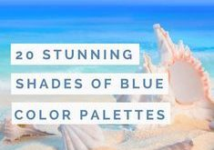 Monday Blues no more! Click to read further about the different shades of blue…