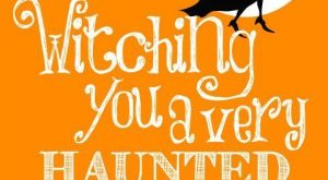 Witching you a very haunted funny holiday witch halloween happy halloween halloween images...