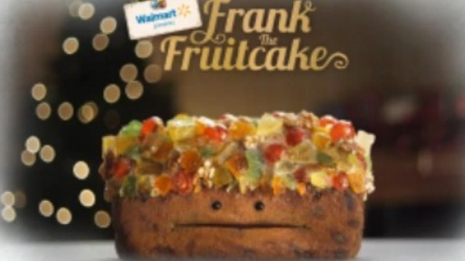 Walmart has released an uncharacteristically odd attempt at a holiday meme: Frank the Frui...