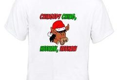 Italian Donkey White T-Shirt > Italian Christmas Donkey > Funny Polish and Internati...