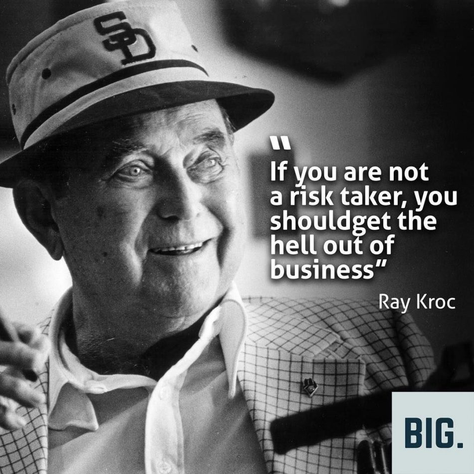 """You have to be risktaker #likebig explore Pinterest""""> #likebig #ray explore Pinteres..."""
