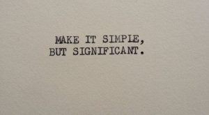 THE DON DRAPER Typewriter quote on 5×7 cardstock by WritersWire, $