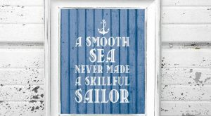 Navy prints Marine prints Anchor Marine quotes от WallArt2Decor