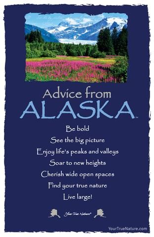 Beauty Advice from Alaska: Be Bold! Your True Nature