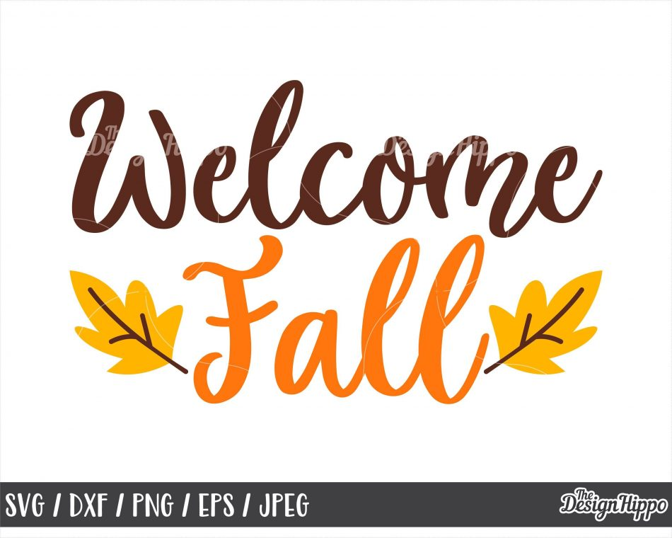 Fall svg, Welcome fall svg, Welcome svg, Fall sign svg, Autumn svg, Fall sayings…