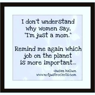 Exactly! What job is more important? Every mom is a super mom! Whether you…