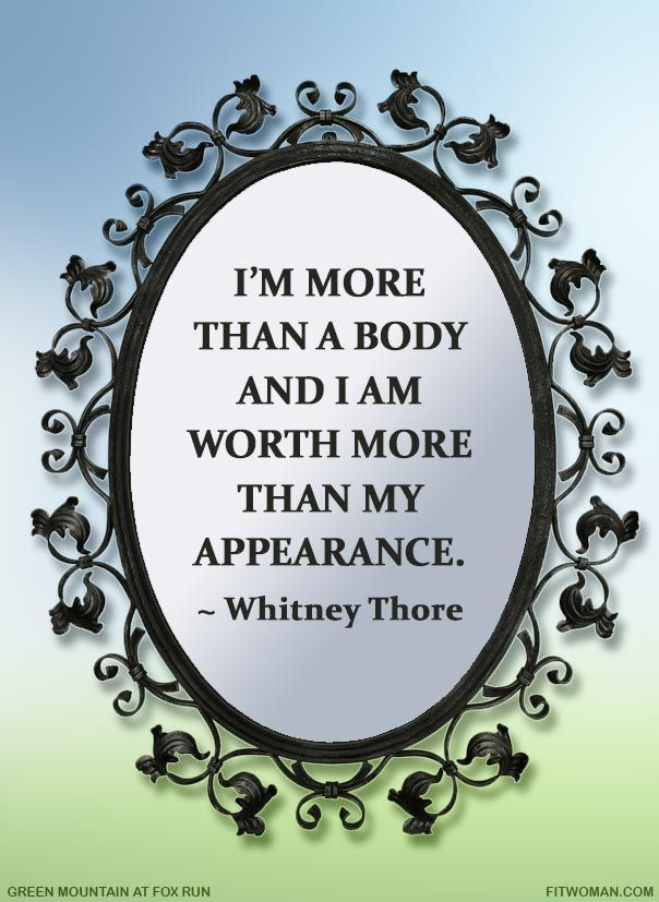 Did you say the F-word? When it comes to self-acceptance, a self-described 'fat and…