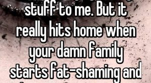 19 Confessions From People Who Have Been Fat-Shamed