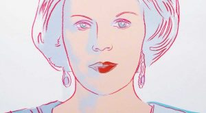 Andy Warhol | Queen Beatrix of the Netherlands 338 | Reigning Queens | 1985…