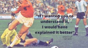 """if I wanted you to understand it I would have explained it better"" johan…"