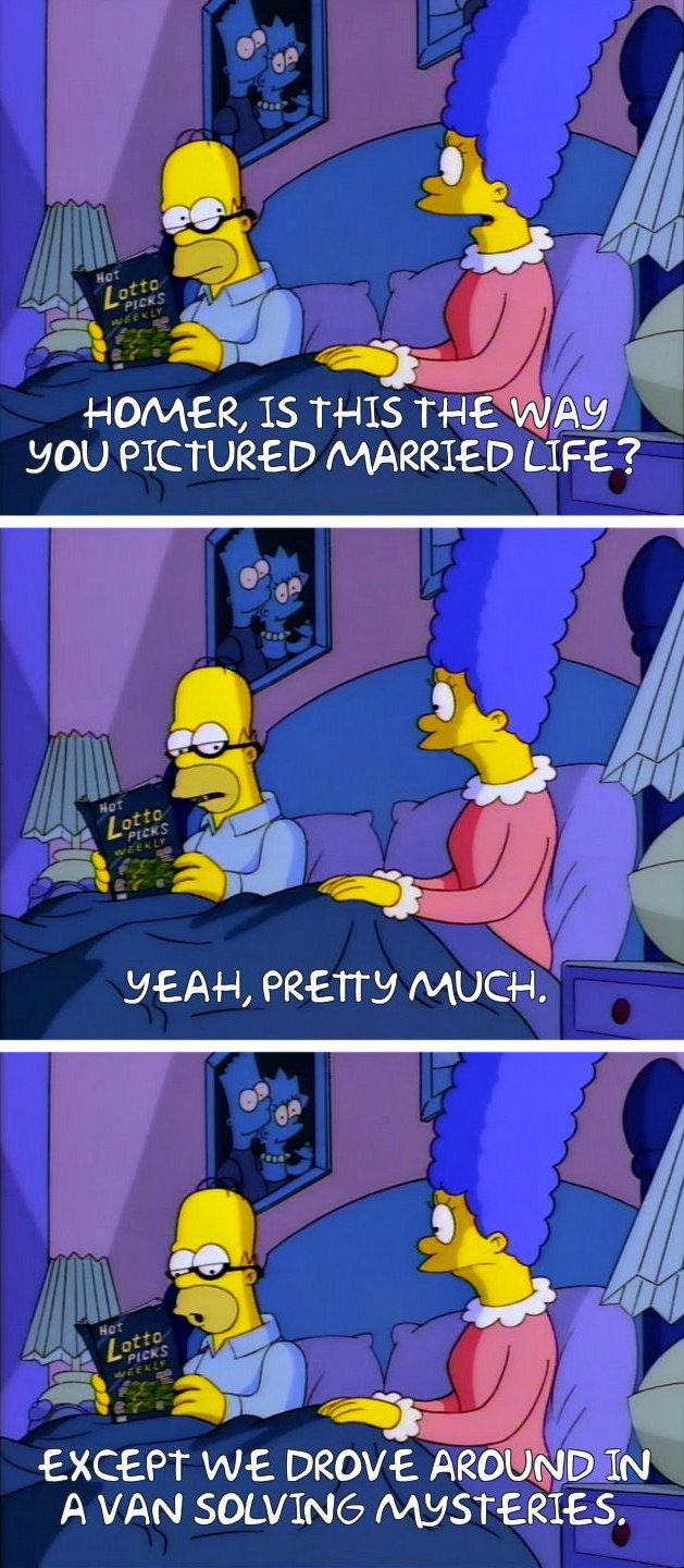 """Homer Simpson, smiling politely."""