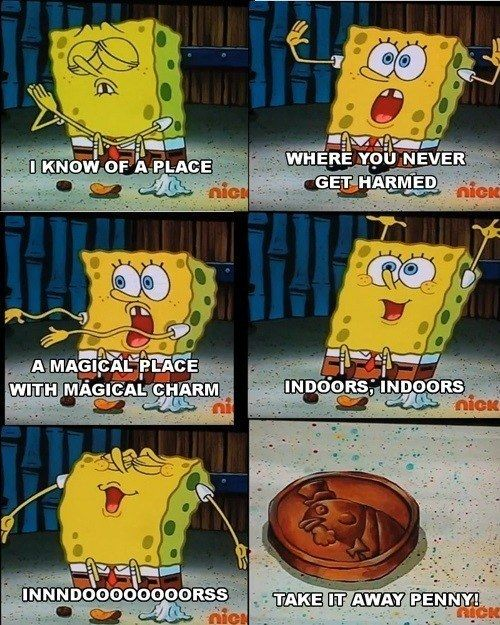 When SpongeBob sang the anthem of the introverts. | 25 Of The Most Hilarious…