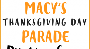 It's time to settle in for another epic installment of the Macy's Thanksgiving Day…