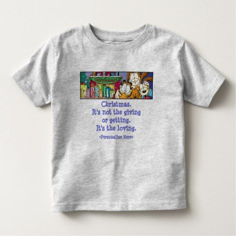 "Garfield Logobox Loving Holidays Kid's T-Shirt #garfield explore Pinterest""&gt..."