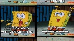 When SpongeBob sang the anthem of the introverts.   25 Of The Most Hilarious…