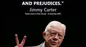 I certainly hope so Mr. Jimmy Carter