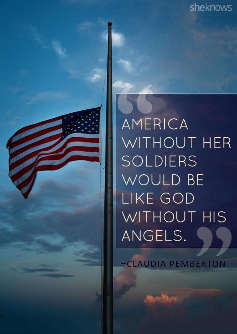 Click for more patriotic quotes for the red, white and blue
