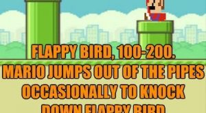 "I Just Thought That Flappy Bird Wasn't Hard Enough #bird explore Pinterest""> #bird..."