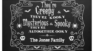 Adams Family Halloween Banner $ by MyOwnEulogy The post Adams Family Halloween Banner appe...