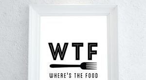 Funny Kitchen Art, Kitchen Wall Art, Kitchen Wall Decor, Kitchen Decor, Modern Kitchen Pri...