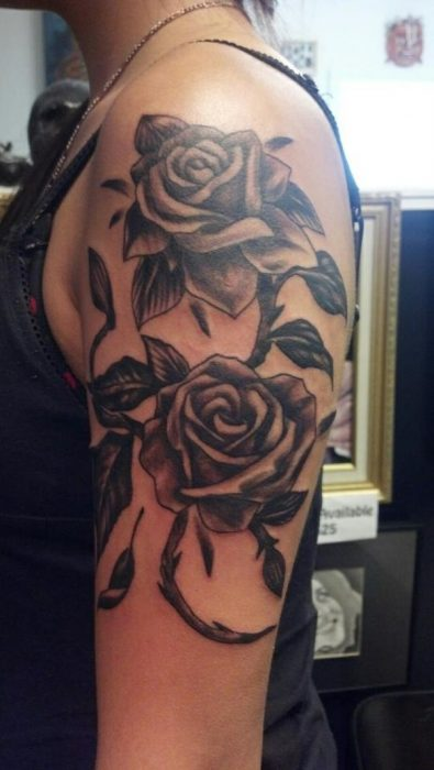 Flowers Tattoos Pictures Upper Arm Tattoo For Women Fit For Fun