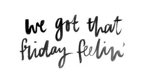 """""""We got that Friday feelin'"""" hand lettering by hunting louise on Instagram. Follow me…"""