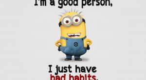 Good Person With Bad Habits – Tap to see more of the most funniest…