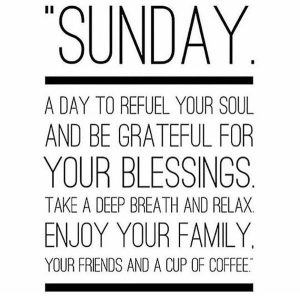 Sunday Quotes & Sayings