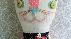 I am so excited to post this sweet kitty as part of the art…
