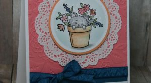 Just peeking in to say hello with an adorable Pretty Kitty card for you.…