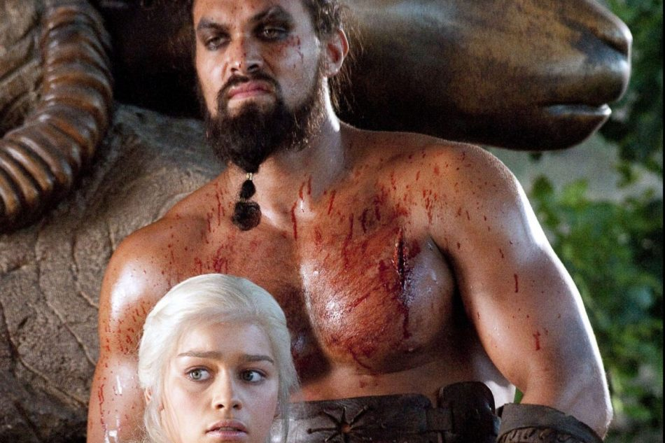 Game of Thrones' George RR Martin reveals Jason Momoa sex scene was derailed by…