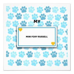 Unique gifts for owners of Mini-Foxy-Russells