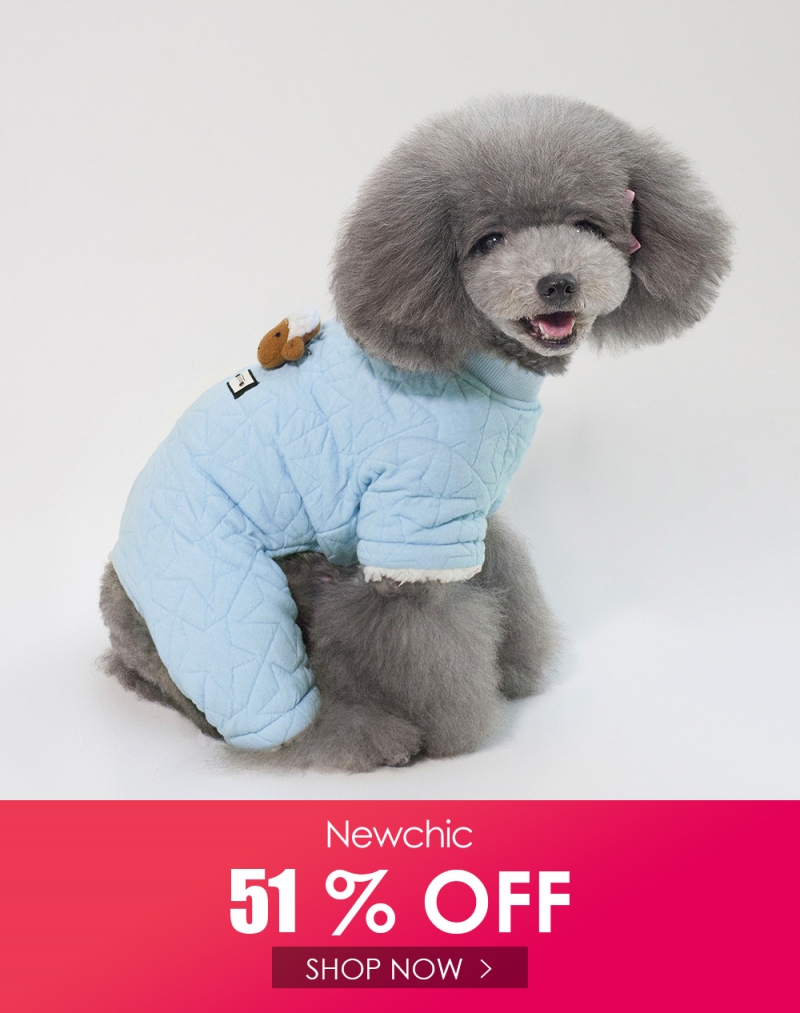 I found this amazing 2 Colors Sheep Doll Cotton Warm Pet Sweater Dog Puppy…