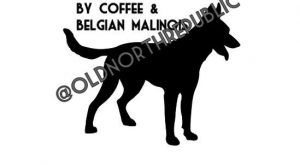 Today's Good Mood Brought To You By Coffee & Belgian Malinois Mal Maligator Indoor/Outdoor…