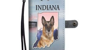 Belgian Malinois Dog Print Wallet Case-Free Shipping-IN State – Samsung Galaxy Note 8