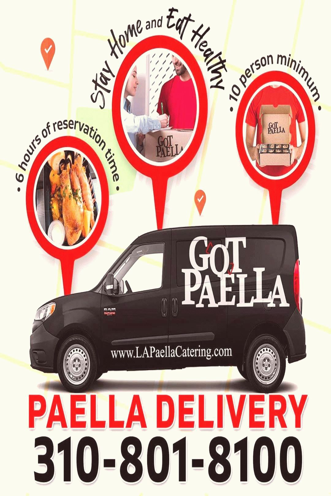 Photo by LA Paella Catering on March 13 2020 Image may contai